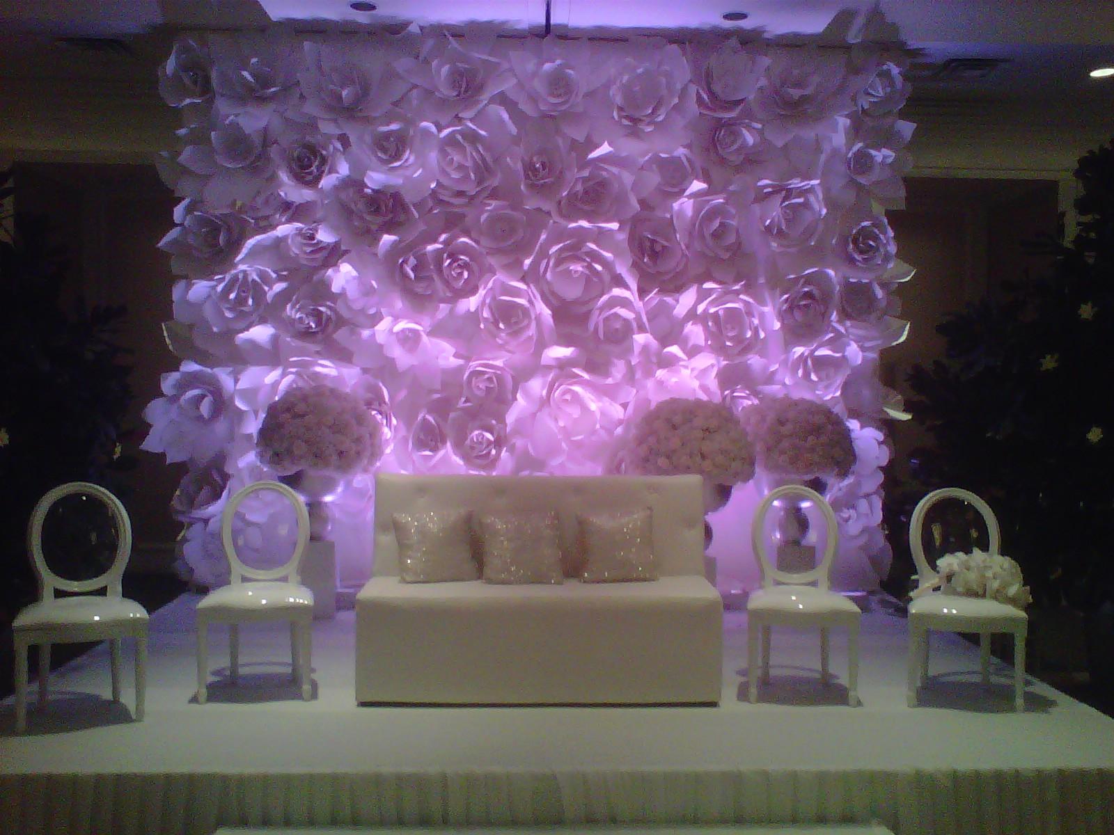 Paper Flowers For Wedding Decoration Wedding Ideas Armenian