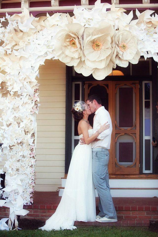Paper Flowers For Wedding Decoration Wedding Ideas