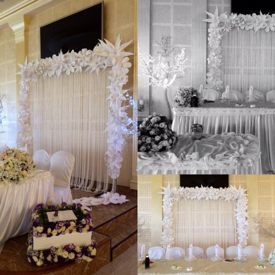 Paper decor flowers decorations armenian wedding portal 123456 junglespirit Images