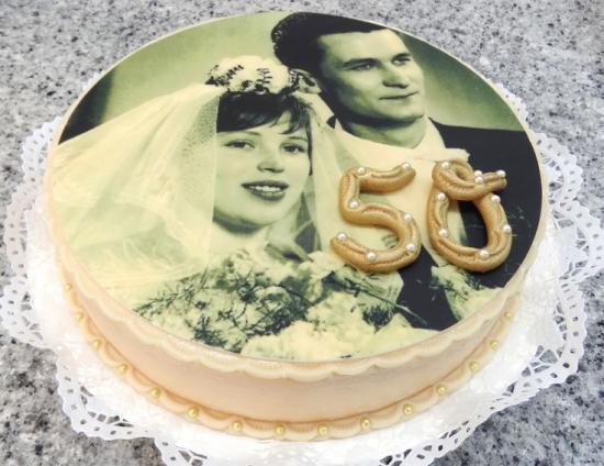 На 50 лет свадьбы подарок